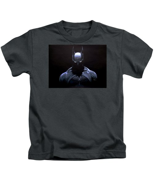 Dark Knight Kids T-Shirt by Marcus Quinn
