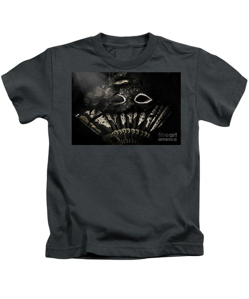 Dark Night Carnival Affair Kids T-Shirt