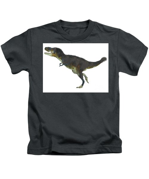 Daspletosaurus Side Profile Kids T-Shirt