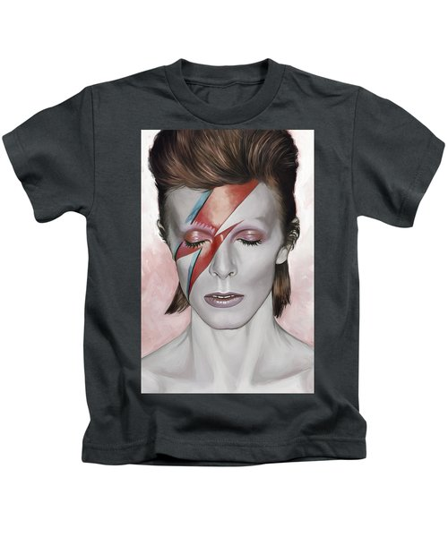 David Bowie Artwork 1 Kids T-Shirt