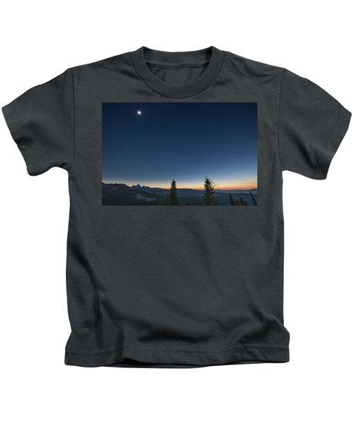 Day Becomes Night Kids T-Shirt