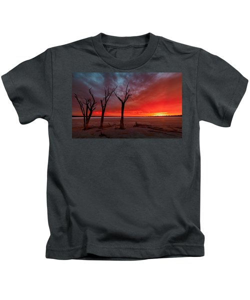 Day Is Done Kids T-Shirt