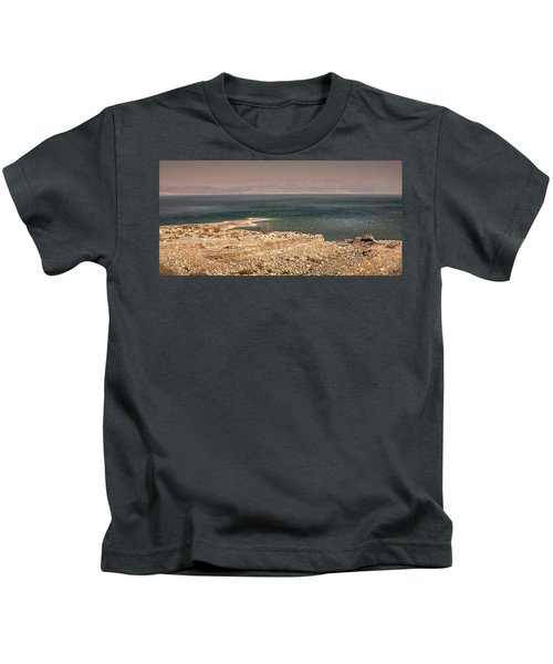 Dead Sea Coastline 1 Kids T-Shirt