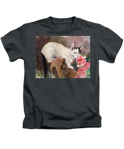 Deano In The Roses Kids T-Shirt