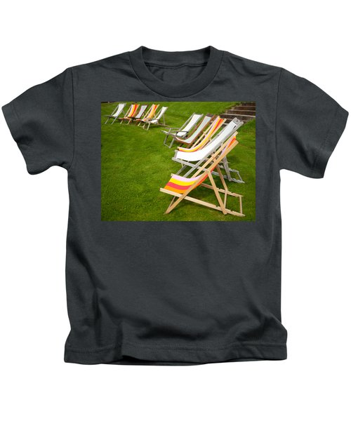 Deck Chairs Kids T-Shirt