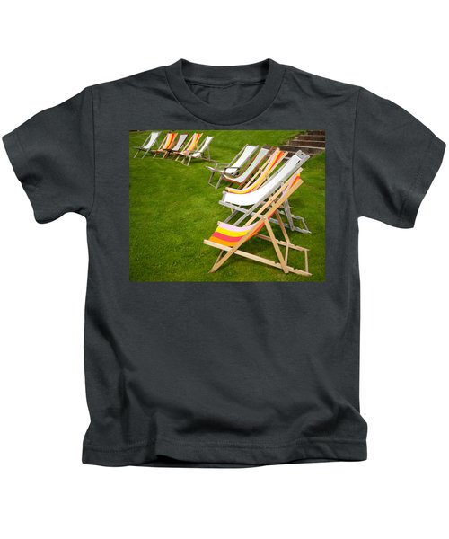 Deck Chairs Kids T-Shirt