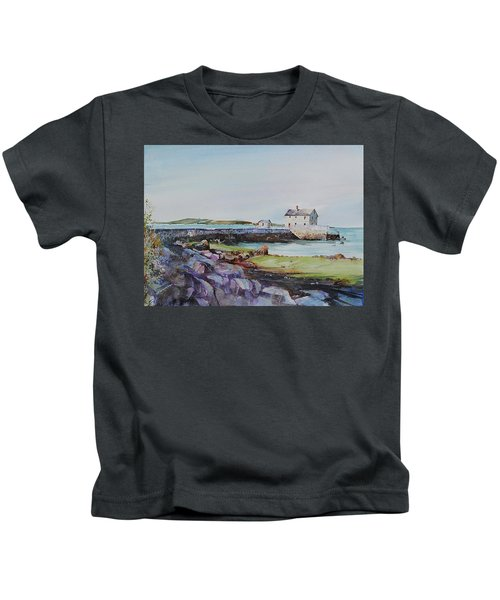 Delano's Wharf At Rock Nook Kids T-Shirt