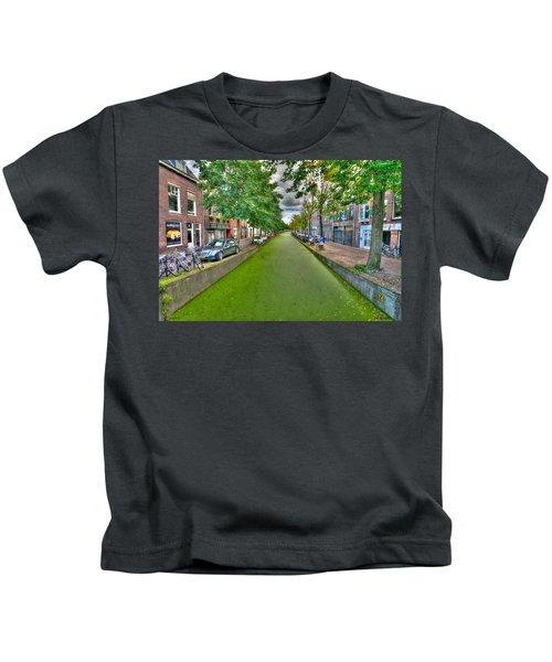 Delft Canals Kids T-Shirt