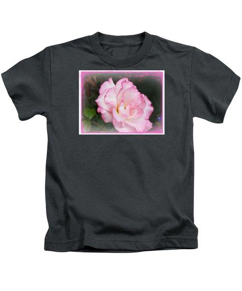 Delicate Pink Petals Kids T-Shirt