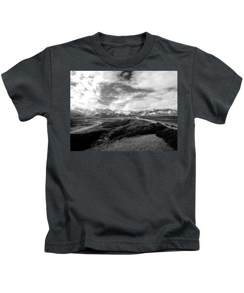 Denali National Park 4 Kids T-Shirt
