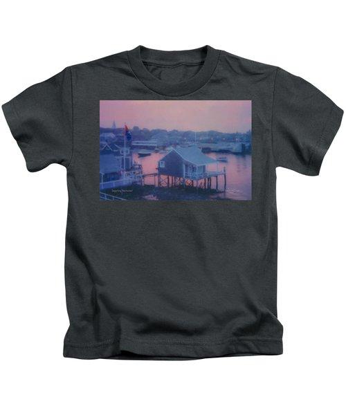 Departing Nantucket Kids T-Shirt