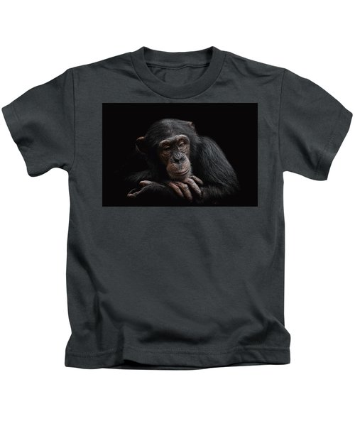 Depression  Kids T-Shirt by Paul Neville