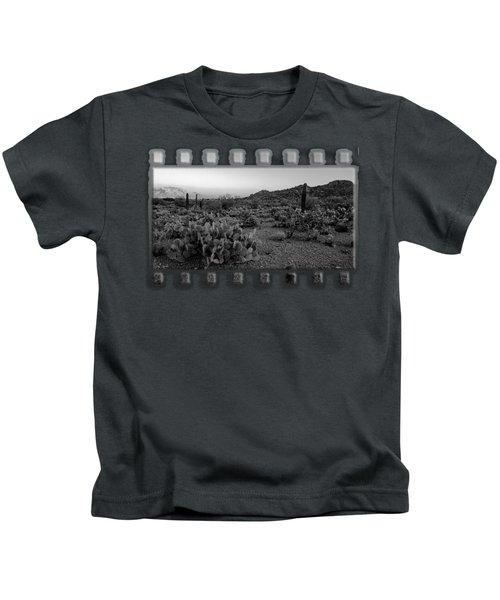 Desert Foothills H30 Kids T-Shirt by Mark Myhaver