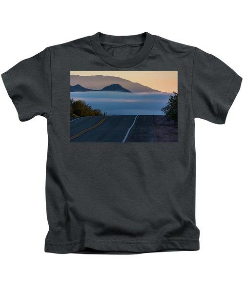 Desert Inversion Highway Kids T-Shirt