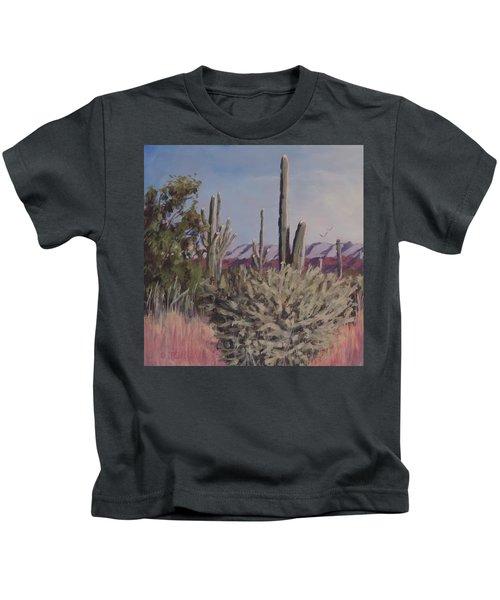 Desert Morning  Kids T-Shirt