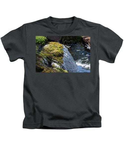 Desert Waterfall Kids T-Shirt
