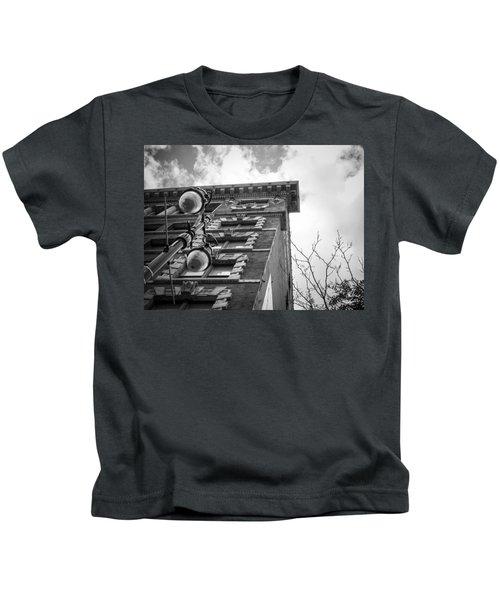 Detroit Architecture Kids T-Shirt