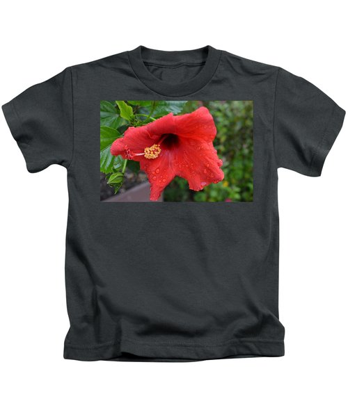 Dew On Flower Kids T-Shirt