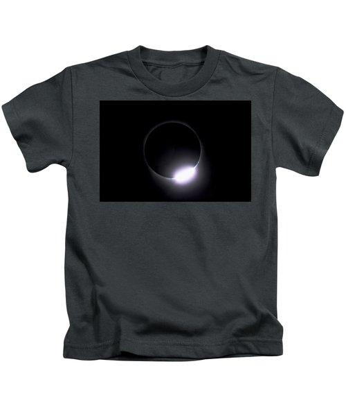 Diamond Ring During Solar Eclipse Kids T-Shirt
