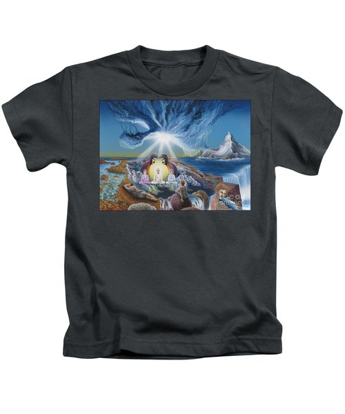 Diary Of Third Recognition Kids T-Shirt