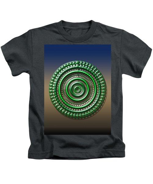 Digital Art Dial 3 Kids T-Shirt
