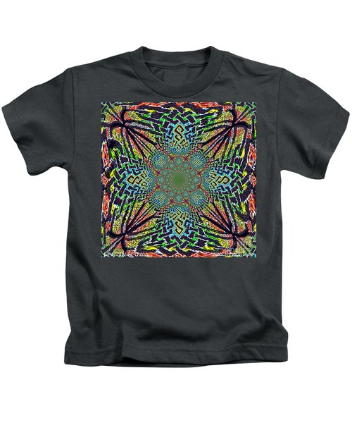 Dimensional Celtic Cross Kids T-Shirt