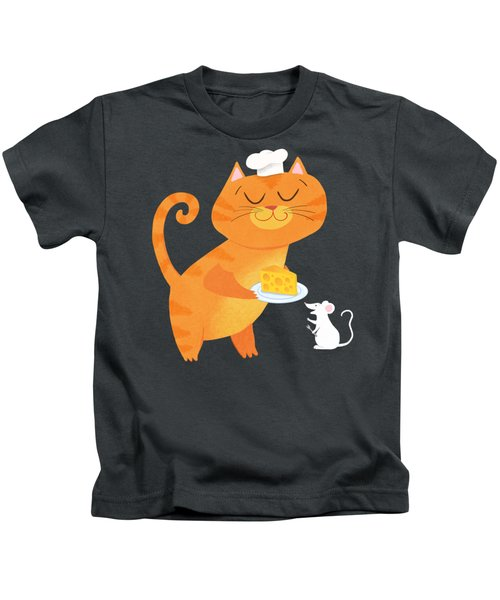 Dinner For Two Kids T-Shirt by Little Bunny Sunshine