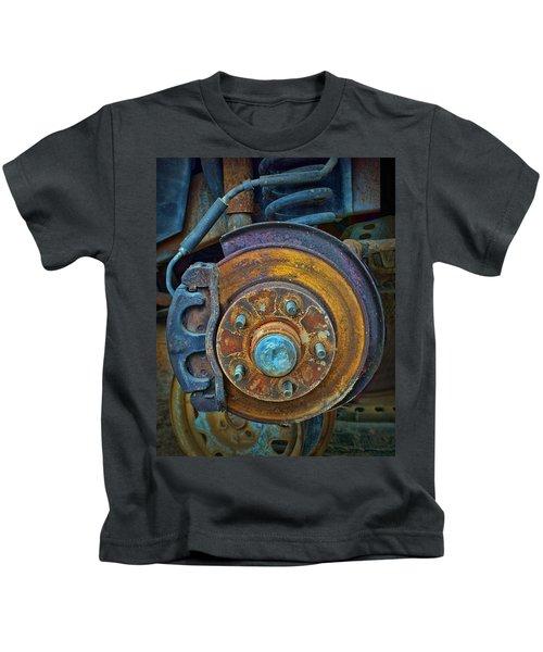 Disc Brake Assembly Kids T-Shirt