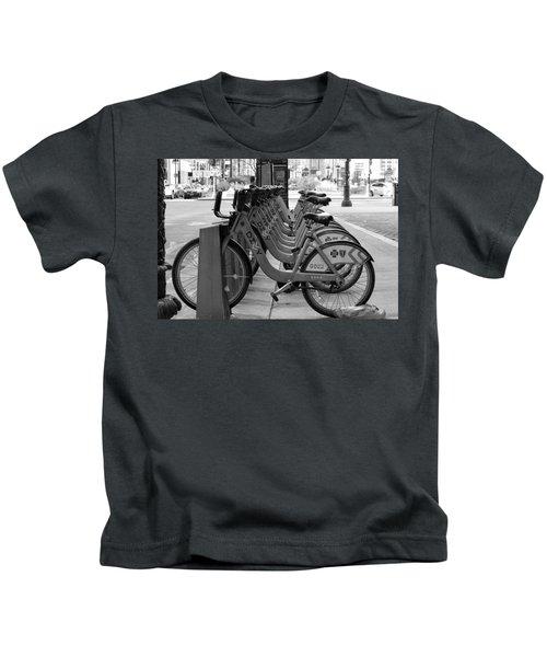 Divvy Bikes Kids T-Shirt
