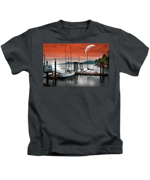 Dock And The Moon Kids T-Shirt