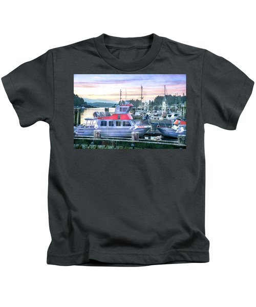 Dock Of The Bay Kids T-Shirt