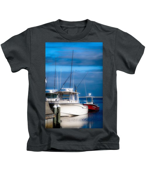 Docked And Quiet Kids T-Shirt