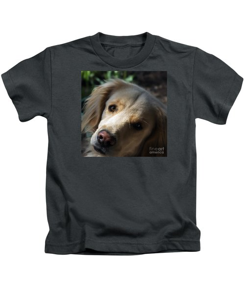 Dog Eyes Kids T-Shirt