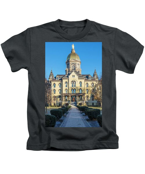 Dome At University Of Notre Dame  Kids T-Shirt