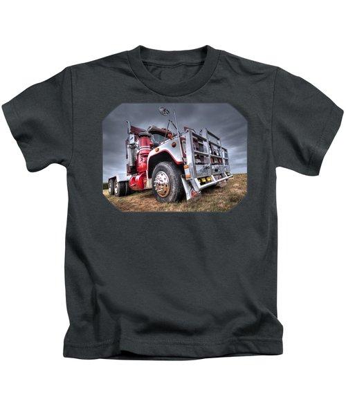 Done Hauling Kids T-Shirt