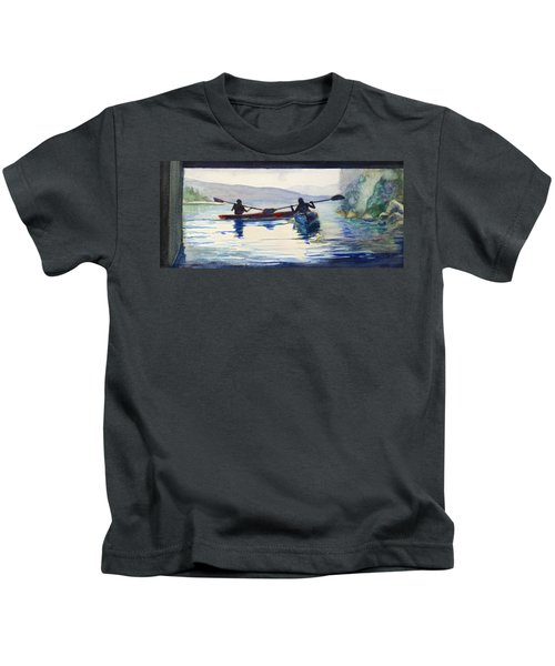 Donner Lake Kayaks Kids T-Shirt