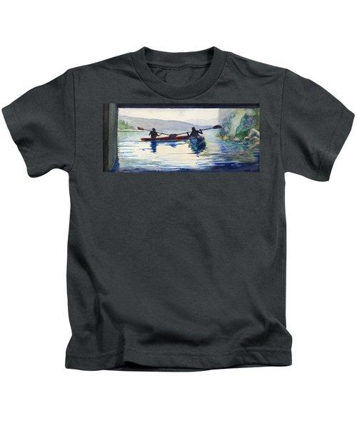 Donner Lake Kayaks Kids T-Shirt