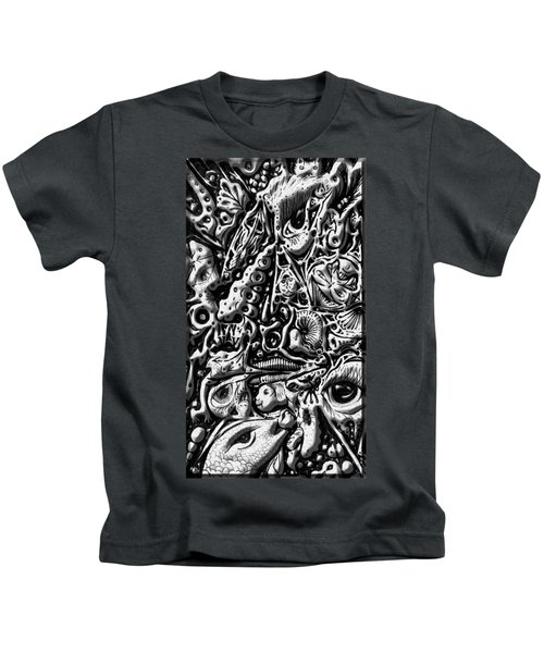 Doodle Emboss Kids T-Shirt