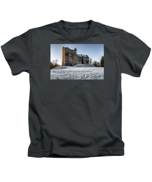 Doune Castle In Central Scotland Kids T-Shirt