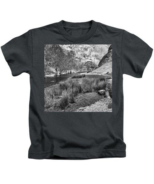 Dovedale, Peak District Uk Kids T-Shirt