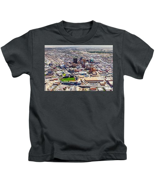 Downtown El Paso Kids T-Shirt