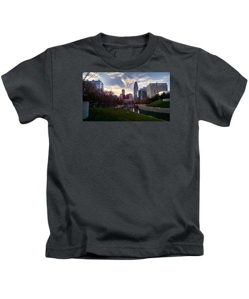 Downtown Omaha Kids T-Shirt