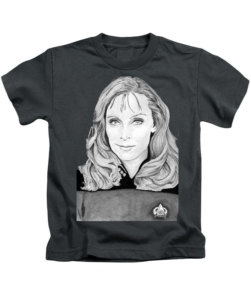 Dr. Beverly Crusher Kids T-Shirt