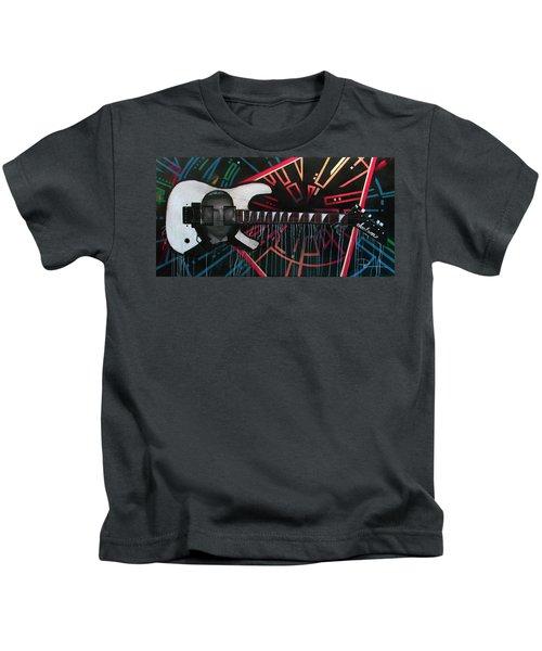 Dracula Jackson Kids T-Shirt by Sean Parnell
