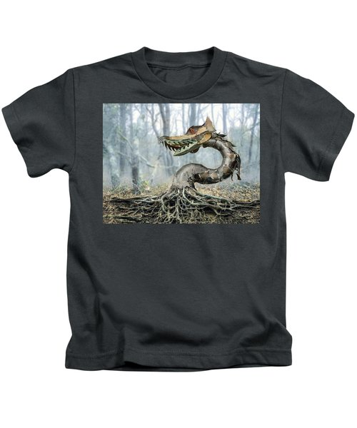Dragon Root Kids T-Shirt