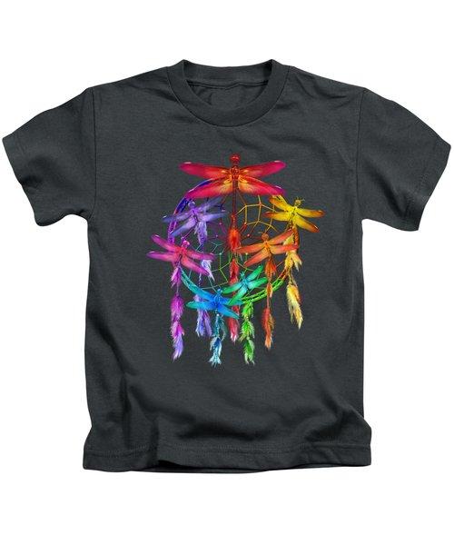 Dragonfly Dreams Kids T-Shirt