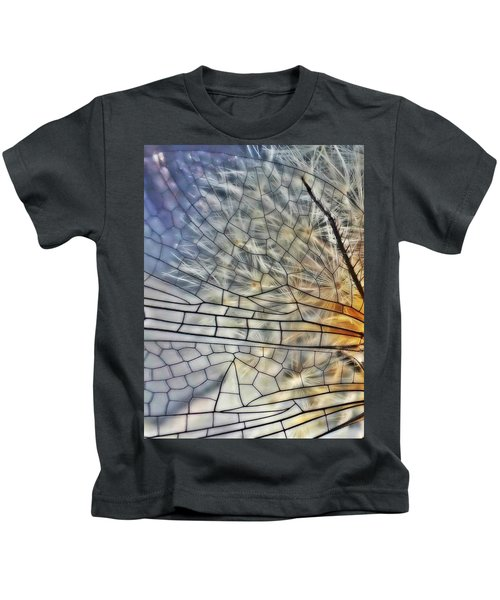 Dragonfly Wing Kids T-Shirt