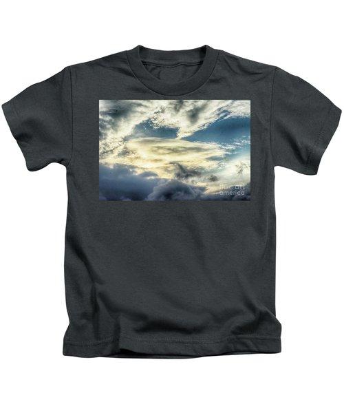 Drama Clouds Kids T-Shirt