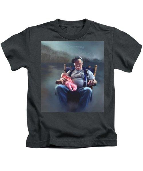 Dreaming With Grandpa Kids T-Shirt