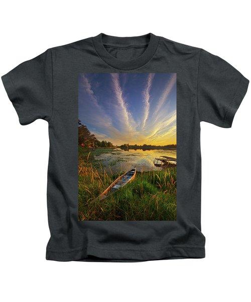 Dreams Of Dusk Kids T-Shirt